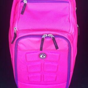 Handbags - Pink Sports/Gym Backpack